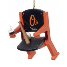 Baltimore Orioles Team Stadium Chair Ornament