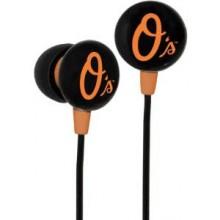 Baltimore Orioles Ihip Earbuds Headphones