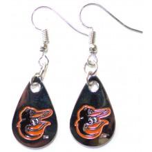 Baltimore Orioles Tear Drop Dangle Earrings