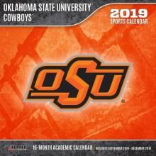 Oklahoma State Cowboys 12 x 12 Wall Calendar (2019)