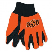 Oklahoma State Cowboys Team Color Utility Gloves
