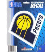 "Indiana Pacers 5"" x 6"" Die-Cut Window Decal"
