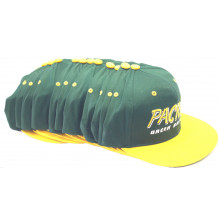 Green Bay Packers 12 Pack of Vintage Flat Bill  Embroidered Snapback Hats