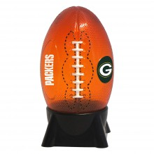 Green Bay Packers Football Shaped Night Light