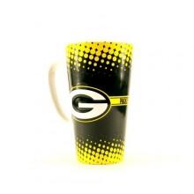 Green Bay Packers 16-ounce Sculpted Latte Mug