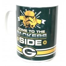 Green Bay Packers 15oz Star Wars Ceramic Mug