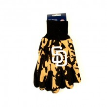 MLB San Diego Padres Team Color Camo Utility Gloves
