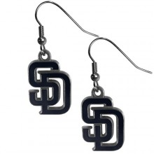 San Diego Padres Logo Dangle Earrings