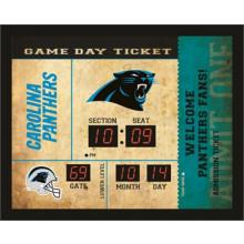 Carolina Panthers Bluetooth Scoreboard Wall Clock