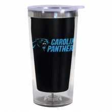 Carolina Panthers 16-Ounce Color Change Tumbler with Lid