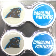 Carolina Panthers 2 Pack Contact Lens Case