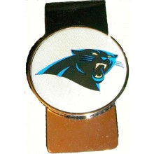 Carolina Panthers Dome Logo Money Clip