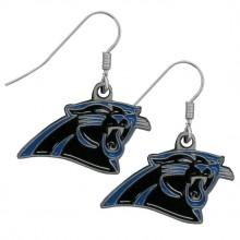 Carolina Panthers  Logo Dangle Earrings