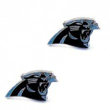 Carolina Panthers Logo Stud Earrings