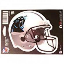 """Carolina Panthers 6"""" Helmet Die-Cut Window Decal"""