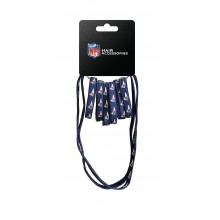 New England Patriots 8 Piece Ponytail and Headband Set