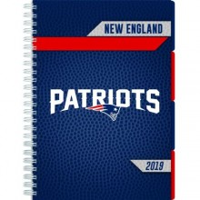 New England Patriots 2019 Tabbed Planner Personal Organizer