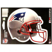 "New England Patriots 6"" Helmet Die-Cut Window Decal"