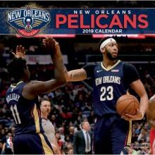New Orleans Pelicans 12 x 12 Wall Calendar 2019