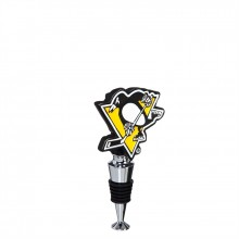 Pittsburgh Penguins  Logo Bottle Stopper