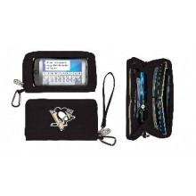 Pittsburgh Penguins Deluxe Touch Smartphone Wallet Case