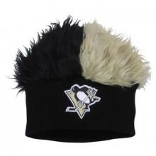 Pittsburgh Penguins Faux Fur Hair Flair Beanie