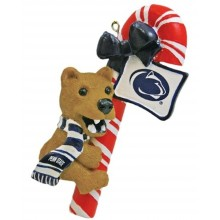 Penn State Candy Cane Ornament