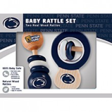 Penn State Nittany Lions Wooden Baby Rattle Set