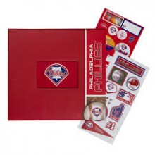 Philadelphia Phillies 12 x 12 Complete Scrapbook Kit