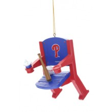 Philadelphia Phillies Team Stadium Chair Ornament