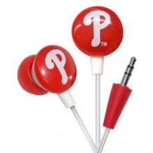 Philadelphia Phillies Ihip Earbuds Headphones