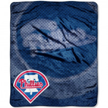 Philadelphia Phillies 50 x 60 inches Royal Plush Raschel Throw