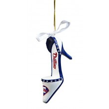Philadelphia Phillies Team High Heel Shoe Ornament