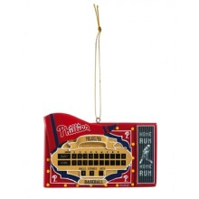 Philadelphia Phillies Team Scoreboard Ornament