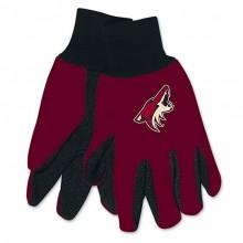 Arizona Coyotes Two-Tone Work Gloves
