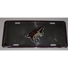 Phoenix Coyotes Aluminum License Plate