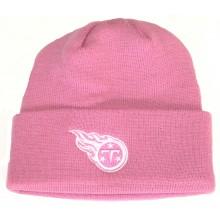 Tennessee Titans Pink Cuffed Beanie