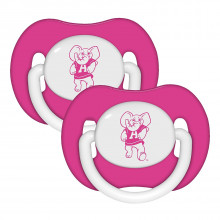 Alabama Crimson Tide Baby Fanatics 2 Pack Pink Pacifiers