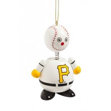 Pittsburgh Pirates Wooden Ball Man Ornament