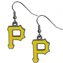 Pittsburgh Pirates Logo Dangle Earrings