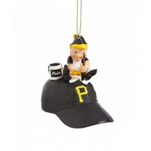 Pittsburgh Pirates Elf Painting Ornament