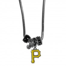 Pittsburgh Pirates Euro Bead Charm Necklace