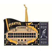 Pittsburgh Pirates Team Scoreboard Ornament