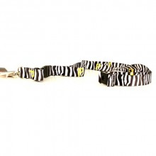 MLB Pittsburgh Pirates Zebra Stripe Breakaway Lanyard Key Chain