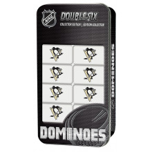 Pittsburgh Penguins Collectors Edition Double Six Dominoes