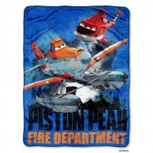 "Disney's Planes Fire & Rescue ""Planes to the Rescue"" Micro Raschel Throw - 46""x60"""
