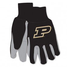 Purdue Boilermakers Team Color Utility Gloves