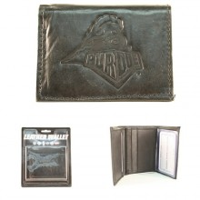 Purdue Boilermakers Leather Wallet