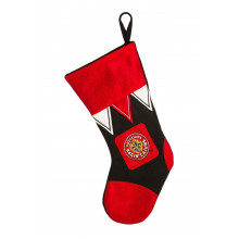 Louisiana Lafayette Ragin Cajun Microfleece Christmas Stocking