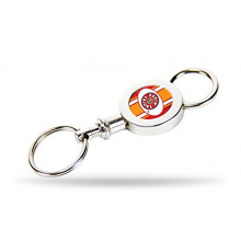 Louisiana Lafayette Ragin Cajuns Quick Release Key Chain